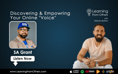 """SA Grant: Discovering & Empowering Your Online """"Voice"""""""